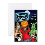 Moonlight Motel Greeting Cards (Pk of 10)