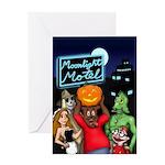 Moonlight Motel Greeting Card