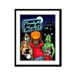 Moonlight Motel Framed Panel Print