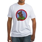 Monty Moonlight Fitted T-Shirt