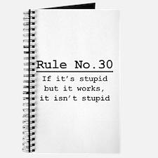 Rule No. 30 Journal