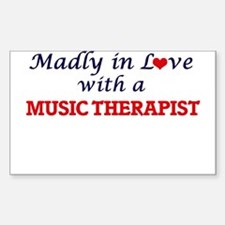 Madly in love with a Music Therapist Decal