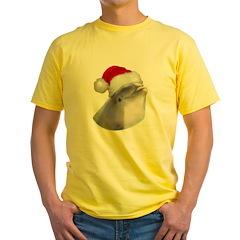Christmas Santa Dolphin T