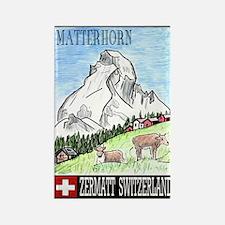 The Matterhorn Shop Rectangle Magnet (100 pack)