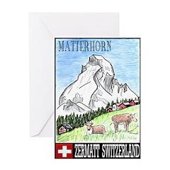 The Matterhorn Shop Greeting Card