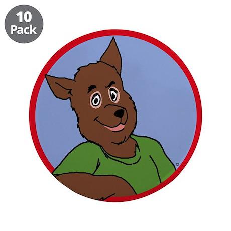 "Monty Moonlight 3.5"" Button (10 pack)"