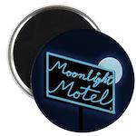 "Moonlight Motel 2.25"" Magnet (10 pack)"