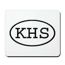 KHS Oval Mousepad