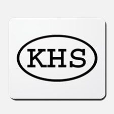 KHS Oval Mousepad