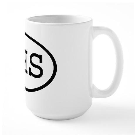 KHS Oval Large Mug