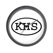 KHS Oval Wall Clock