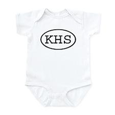 KHS Oval Infant Bodysuit