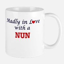 Madly in love with a Nun Mugs