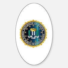 Funny Vector art Sticker (Oval)