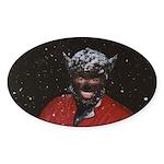 Monty Moonlight Sticker (Oval)