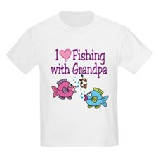 I Love Fishing With Grandpa T-Shirt