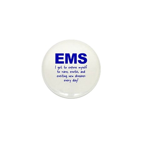 EMS ... diseases Mini Button (10 pack)