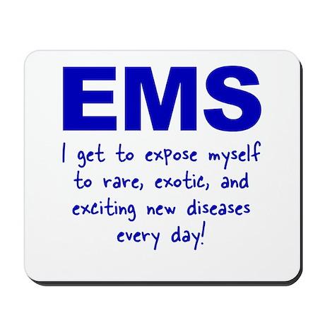 EMS ... diseases Mousepad