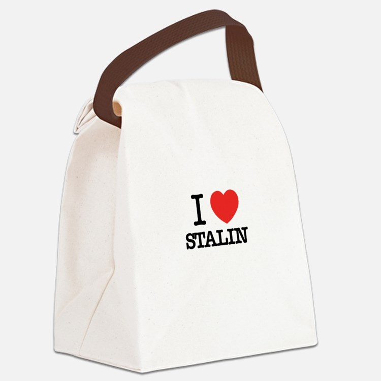 I Love STALIN Canvas Lunch Bag