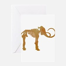 Woolly mammoth Greeting Cards