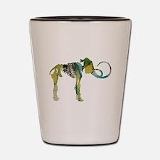 Woolly mammoth Shot Glass