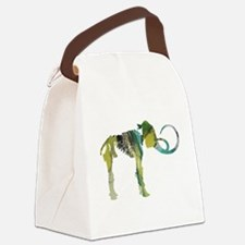 Woolly mammoth Canvas Lunch Bag