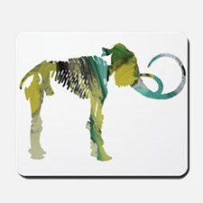 Woolly mammoth Mousepad