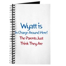 Wyatt Is In Charge Journal