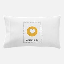 I Love Kansas City Pillow Case