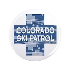 "Colorado Ski Patrol 3.5"" Button"