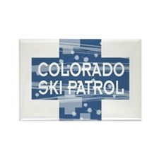 Colorado Ski Patrol Rectangle Magnet