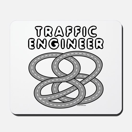 Traffic Engineer Interchange Mousepad