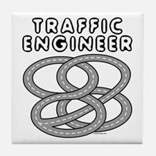 Traffic Engineer Interchange Tile Coaster