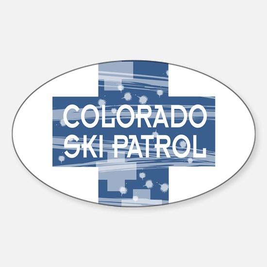 Colorado Ski Patrol Oval Decal