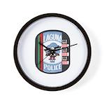 Laguna Pueblo Police Wall Clock