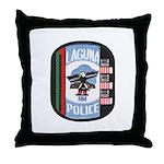 Laguna Pueblo Police Throw Pillow