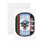 Laguna Pueblo Police Greeting Cards (Pk of 10)