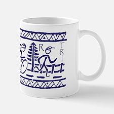 BLUE TRI-BAND Mug