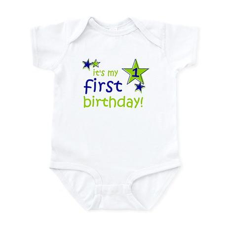 it's my first birthday Infant Bodysuit