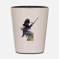 Bassoon Player Shot Glass