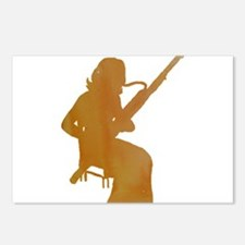 Bassoon Player Postcards (Package of 8)