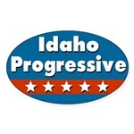 Idaho Progressive Bumper Sticker