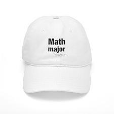 Math Major Baseball Cap