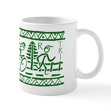 GREEN TRI-BAND Mug