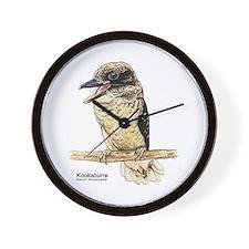 Kookaburra Australian Bird Wall Clock