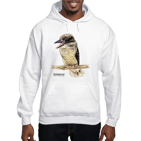 Kookaburra Australian Bird (Front) Hooded Sweatshi