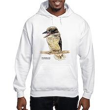 Kookaburra Australian Bird (Front) Hoodie