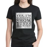 Musical theatre Women's Dark T-Shirt