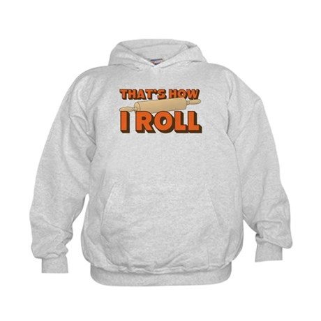 Thats How I Roll Kids Hoodie