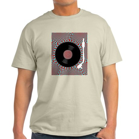 Psych Turntable Light T-Shirt